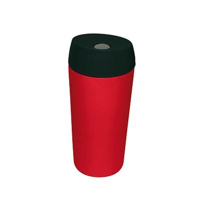 Edelstahl-Isolierbecher Style, 350 ml, rot glänzend
