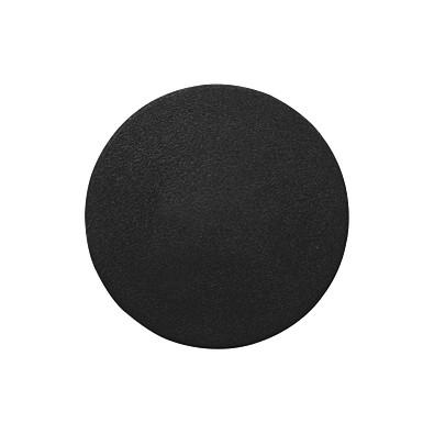 Einkaufswagenchip ohne Loch, schwarz