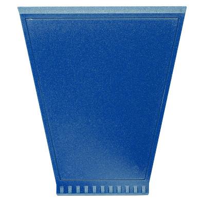 Eiskratzer Trapez, metallic-blau