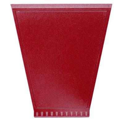 Eiskratzer Trapez, metallic-rot