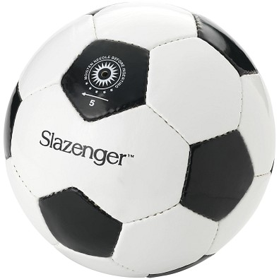 Slazenger™ Fußball El Classico mit 30 Segmenten, weiß,schwarz