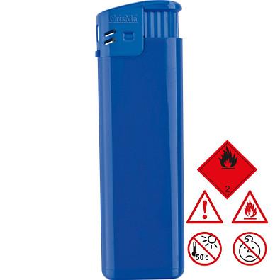Elektronik-Feuerzeug, nachfüllbar, blau