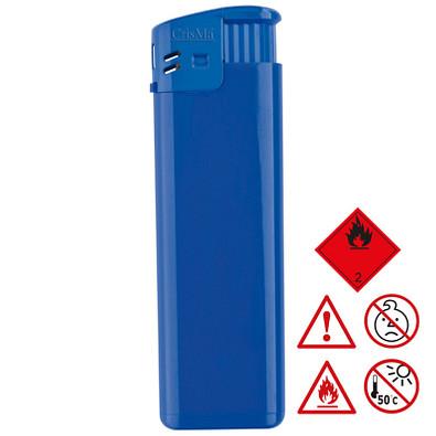 Elektronikfeuerzeug Lichtenstein,blau