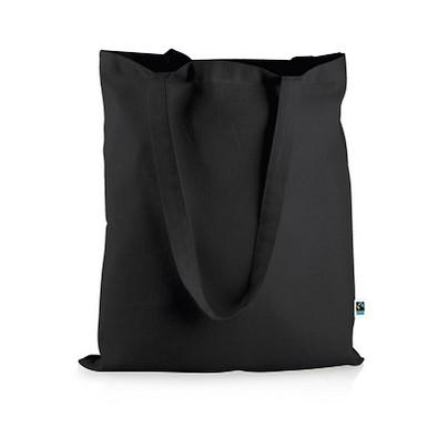 Mister Bags Fairtrade-Baumwolltasche Elsa, schwarz