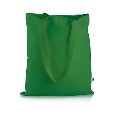 Mister Bags Fairtrade-Baumwolltasche Elsa, grün