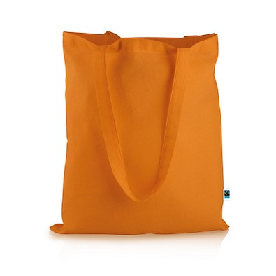 Mister Bags Fairtrade-Baumwolltasche Elsa, orange