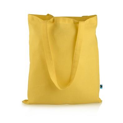Mister Bags Fairtrade-Baumwolltasche Elsa, gelb