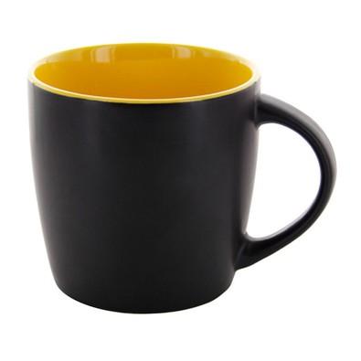 Emilia schwarz matt/gelb