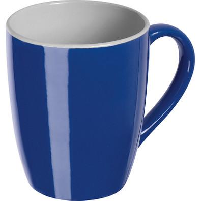 Farbige Tasse aus Keramik, 300 ml, blau