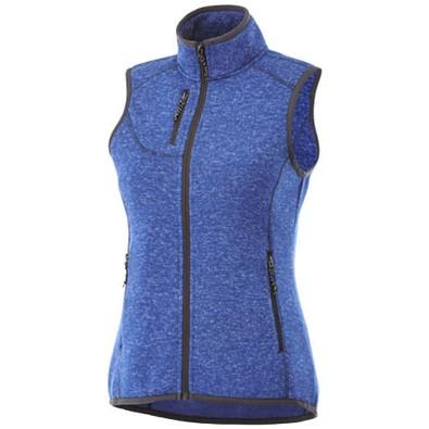 ELEVATE Damen Weste Fontaine Bodywarmer, heather blau, L
