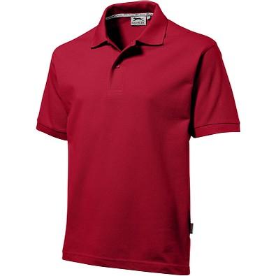 Slazenger™ Herren Poloshirt Forehand, dunkelrot, XXL