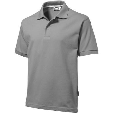 Slazenger™ Herren Poloshirt Forehand, grau, L