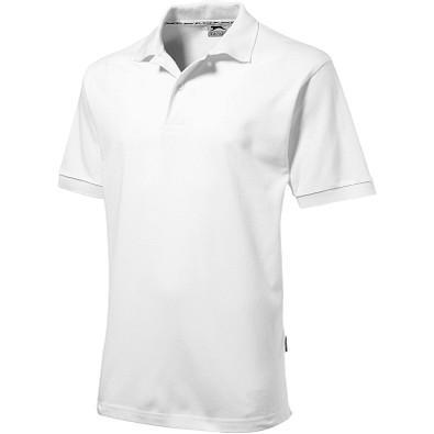 Slazenger™ Herren Poloshirt Forehand, weiß, XXL