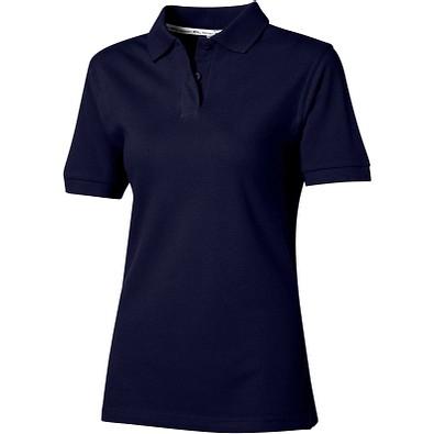 Slazenger™ Damen Poloshirt Forehand, dunkelblau, L