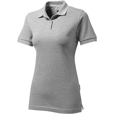 Slazenger™ Damen Poloshirt Forehand, sportgrau, L