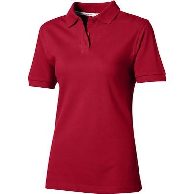 Slazenger™ Damen Poloshirt Forehand, dunkelrot, L