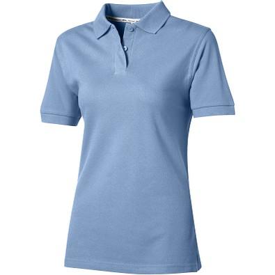 Slazenger™ Damen Poloshirt Forehand, hellblau, L