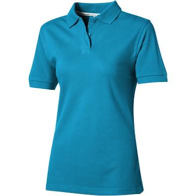 Slazenger™ Damen Poloshirt Forehand, türkis, L