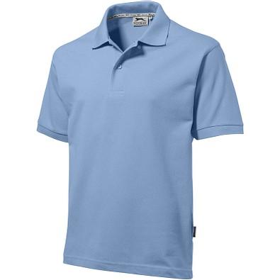 Slazenger™ Herren Poloshirt Forehand, hellblau, L
