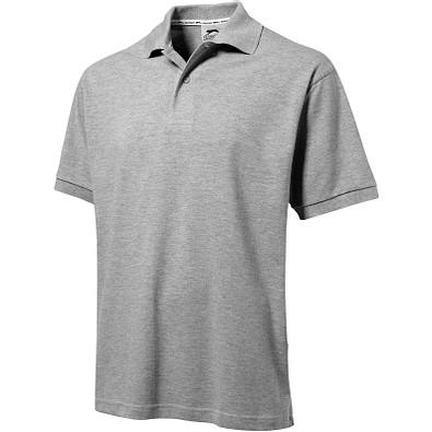 Slazenger™ Herren Poloshirt Forehand, sportgrau, S