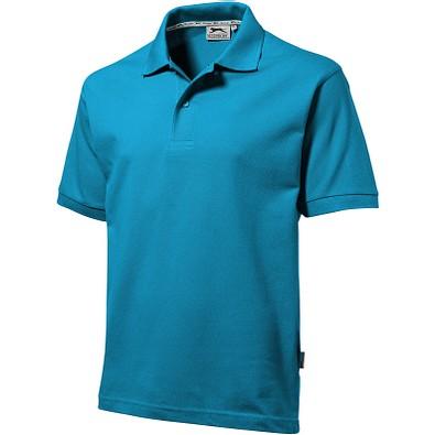Slazenger™ Herren Poloshirt Forehand, türkis, L