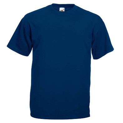 FRUIT OF THE LOOM® Unisex T-Shirt Valueweight T, marine, S