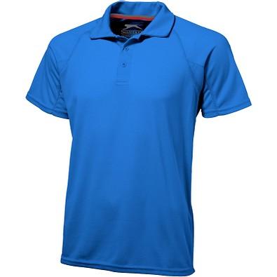Slazenger™ Herren Poloshirt Game Sport cool fit, himmelblau, L