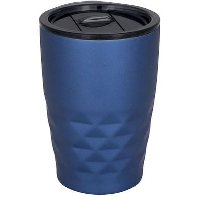 Geo Kupfer-Vakuum Isolierbecher, 350 ml, blau