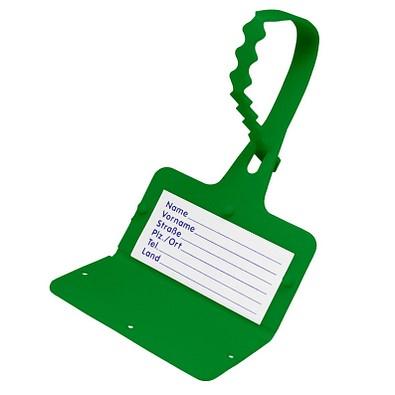 "Gepäckanhänger ""Address"", standard-grün"