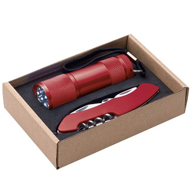 Geschenkset Cut & Light, rot