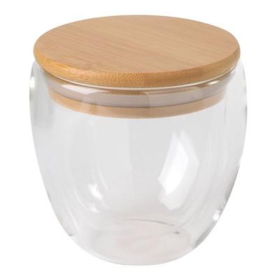 Glas Bamboo Art, 250 ml, transparent