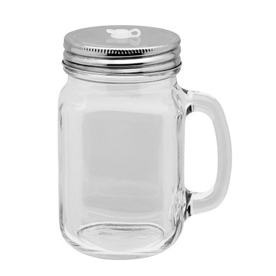 retumbler® Glasbecher Dinar, transparent
