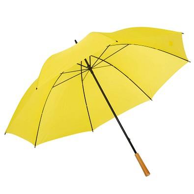 Golfschirm Raindrops, gelb