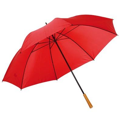 Golfschirm Raindrops, rot