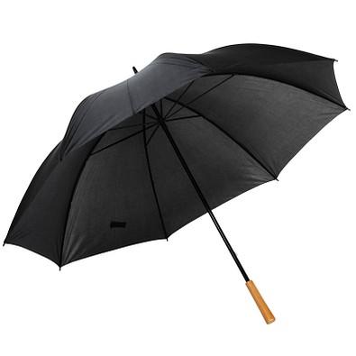 Golfschirm Raindrops, schwarz