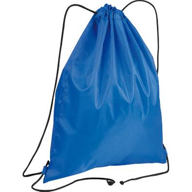 Gym-Bag aus Polyester, blau