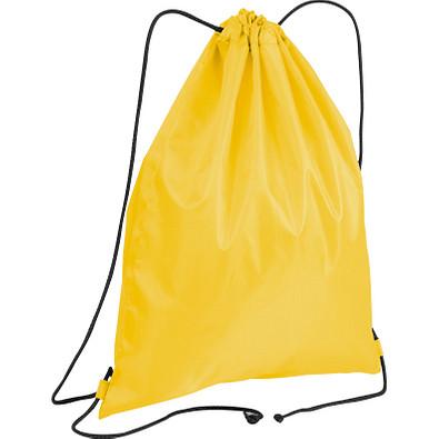 Gym-Bag aus Polyester, gelb