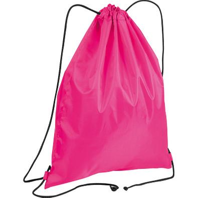 Gym-Bag aus Polyester, pink