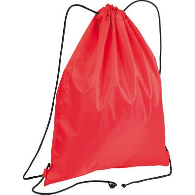 Gym-Bag aus Polyester, rot
