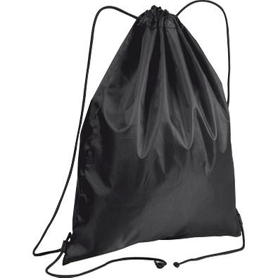 Gym-Bag aus Polyester, schwarz