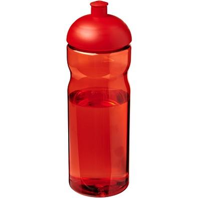 H2O Base Sportflasche mit Stülpdeckel, 650 ml, rot