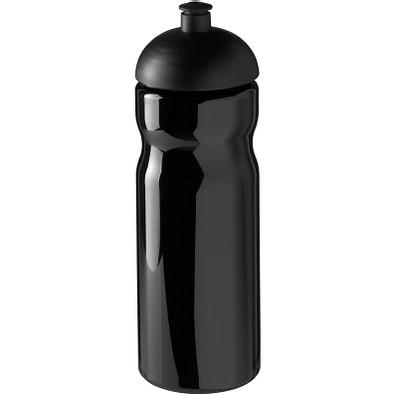H2O Base Sportflasche mit Stülpdeckel, 650 ml, schwarz