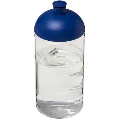 H2O Bop® 500 ml Flasche mit Stülpdeckel, transparent,blau