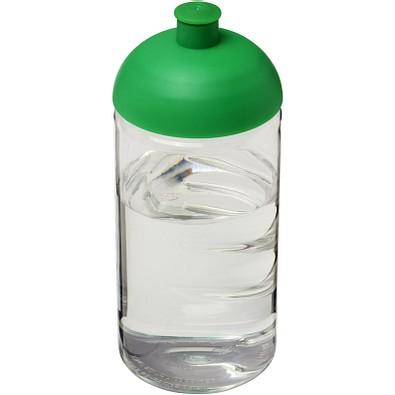 H2O Bop® 500 ml Flasche mit Stülpdeckel, transparent,grün