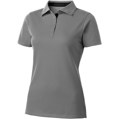 Slazenger™ Damen Poloshirt Hacker, grau,schwarz, M