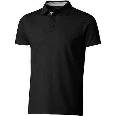 Slazenger™ Herren Poloshirt Hacker, schwarz,grau, S
