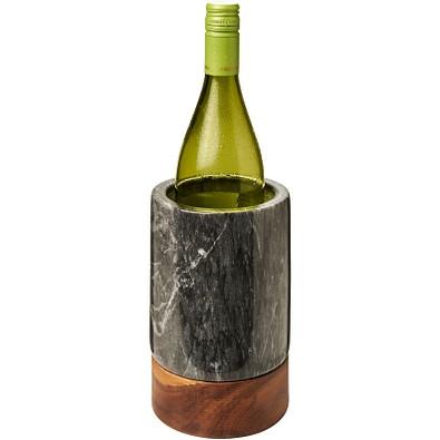Harlow Weinkühler aus Marmor und Holz, holz,Granite