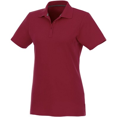 ELEVATE Damen Poloshirt Helios, bordeaux, M