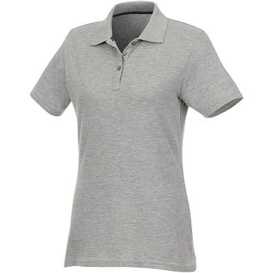 ELEVATE Damen Poloshirt Helios, heather grau, XS