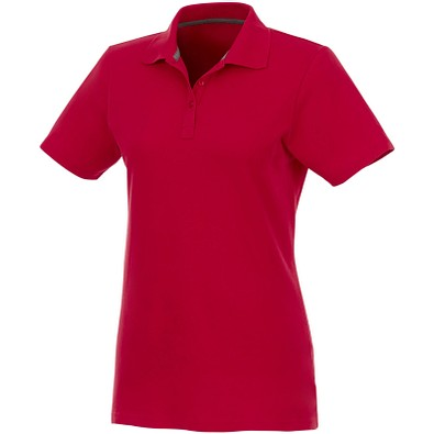 ELEVATE Damen Poloshirt Helios, rot, XXXL